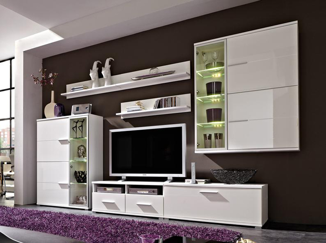 meuble salon led conforama. Black Bedroom Furniture Sets. Home Design Ideas