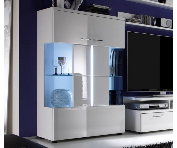 meuble salon vitrine. Black Bedroom Furniture Sets. Home Design Ideas