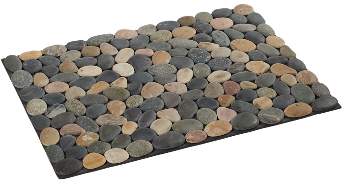 tapis de bain galet carrelage design tapis galet moderne design pour carrelage de sol et rev. Black Bedroom Furniture Sets. Home Design Ideas