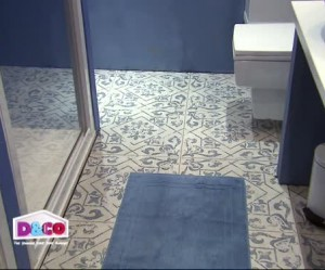 tapis salle de bain plastique