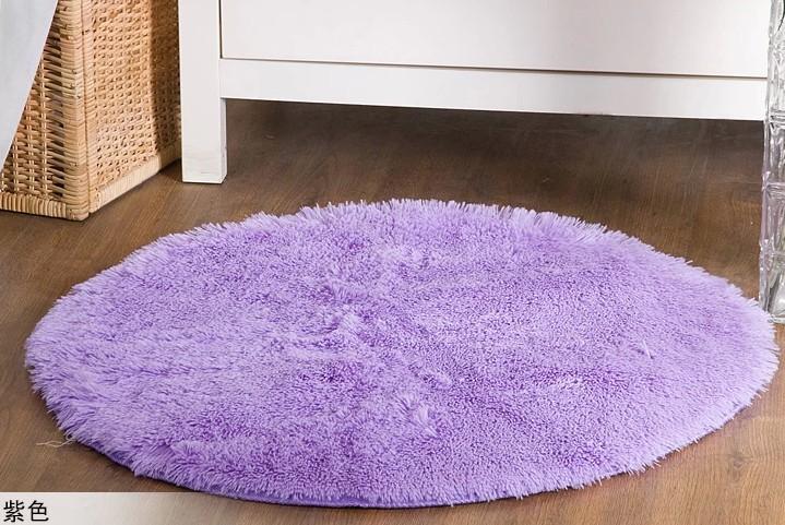 tapis salle de bain rond noir. Black Bedroom Furniture Sets. Home Design Ideas