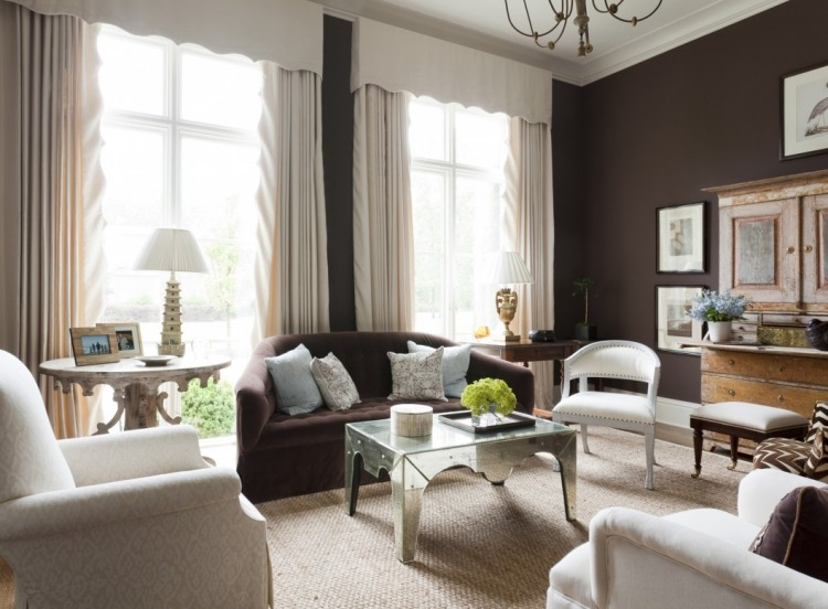 comparatif tapis salon marron chocolat
