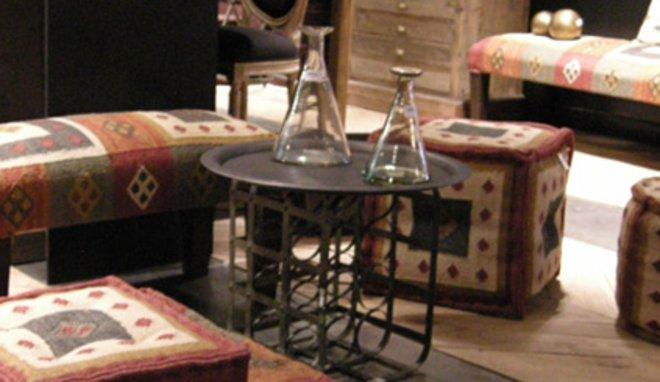 organisation tapis salon turque