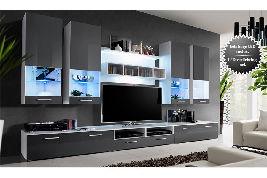 Tv meuble design for Meuble tv grand ecran