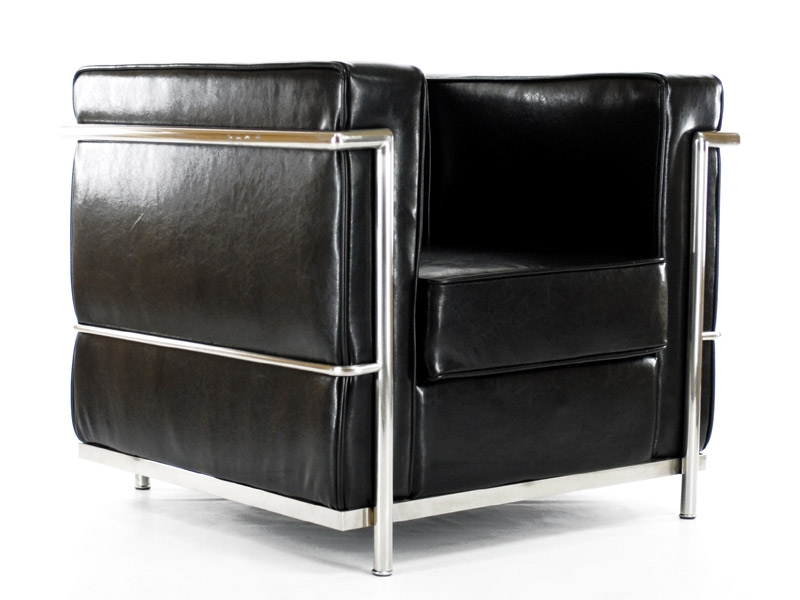 fauteuil le corbusier. Black Bedroom Furniture Sets. Home Design Ideas