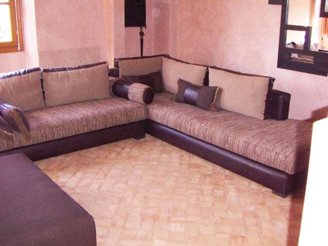 Meuble salon marocain for K meuble salon marocain