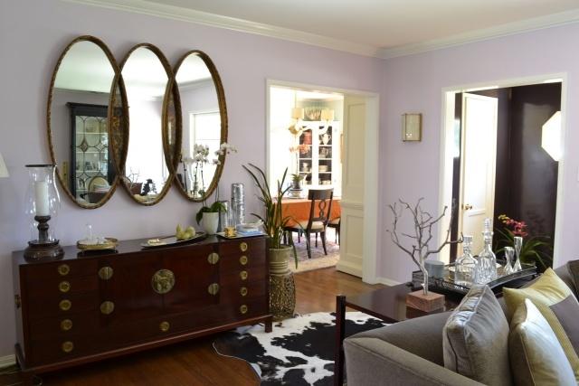 tapis salon ovale